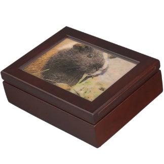 cute Guinea pig Keepsake Box