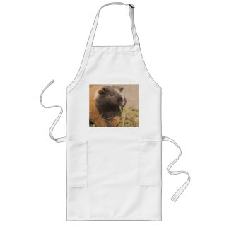 cute Guinea pig Long Apron