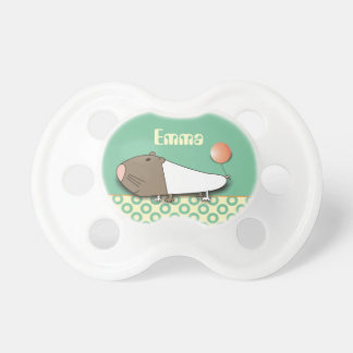 Cute Guinea Pig Personalized Baby Pacifiers
