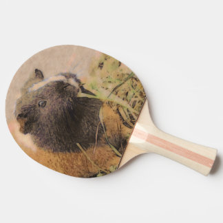 cute Guinea pig Ping Pong Paddle