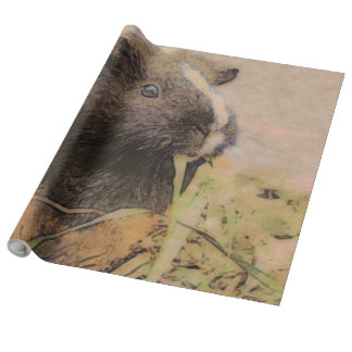 cute Guinea pig Wrapping Paper