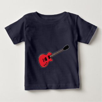 Cute Guitar T-Shirt for Baby Toddler Kids