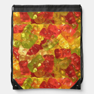Cute Gummy Candy Drawstring Backpack