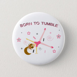Cute Gymnastic Button