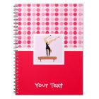 Cute Gymnastics Balance Beam Notebook