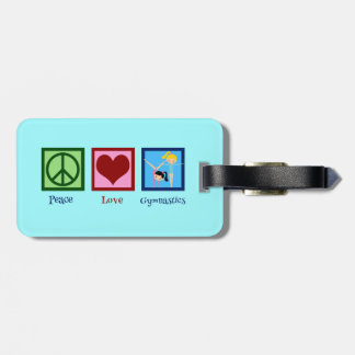 Cute Gymnastics Luggage Tag