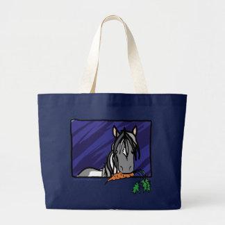 Cute Gypsy Vanner Large Tote Bag