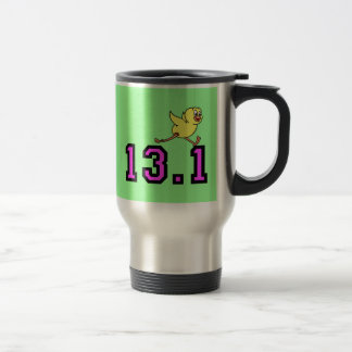 Cute half marathon travel mug