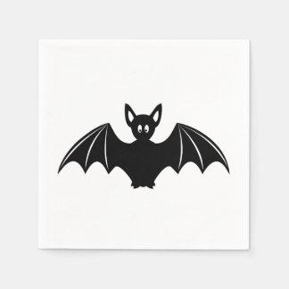 Cute halloween bat cartoon disposable napkin
