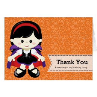 Cute Halloween birthday Greeting Card