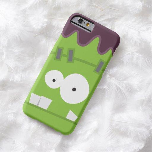 Cute Halloween Frankenstein Monster Face iPhone 6 Case
