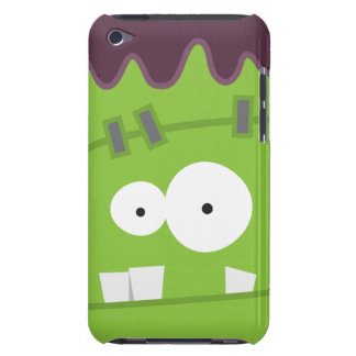 Cute Halloween Frankenstein Monster Face Barely There iPod Case