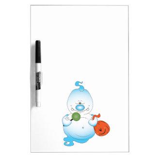 Cute Halloween Ghost Cartoon Dry-Erase Whiteboards