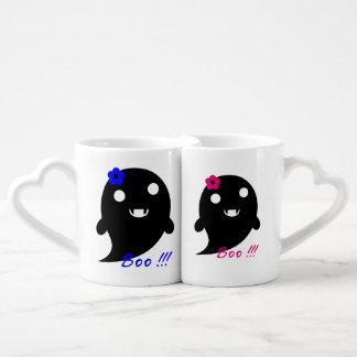 Cute Halloween ghost Coffee Mug Set