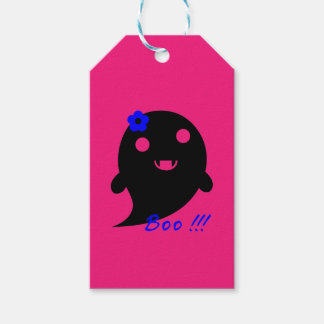 Cute Halloween Ghost Gift Tags