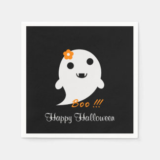 Cute Halloween Ghost Napkin
