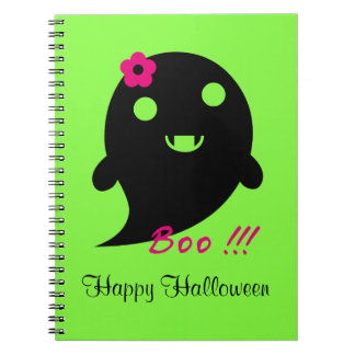 Cute Halloween Ghost Notebook