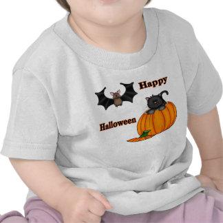 Cute Halloween Kitten Bat Infant T-Shirt
