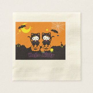 Cute Halloween kitties Napkin