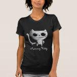 Cute Halloween Mummy Cat T-Shirt