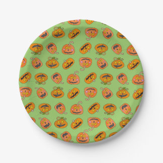 Cute Halloween Paper Plates 7 Inch Paper Plate