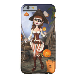 Cute Halloween Pirate Girl iPhone Case