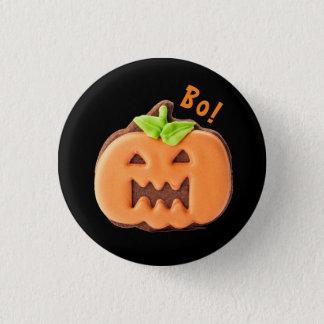 Cute Halloween Pumpkin 1 Inch Round Button