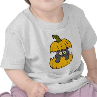 cute halloween pumpkin cat shirts