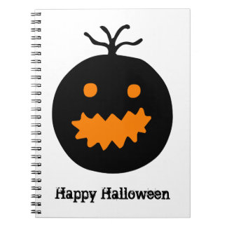 Cute Halloween Pumpkin Notebooks