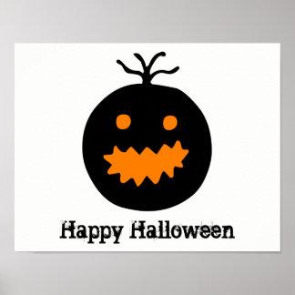 Cute Halloween Pumpkin Poster