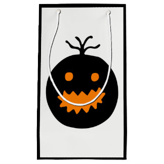 Cute Halloween Pumpkin Small Gift Bag