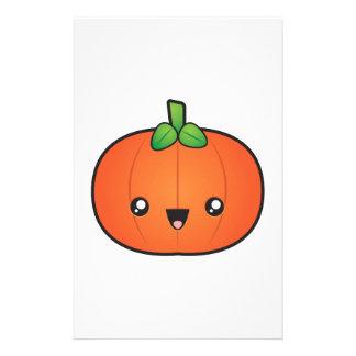 Cute Halloween Pumpkin Stationery
