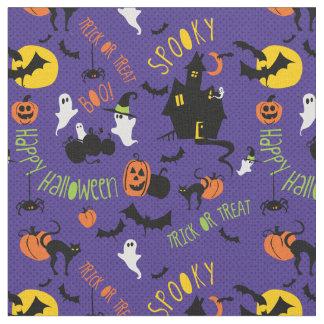 Cute Halloween Toss print Fabric