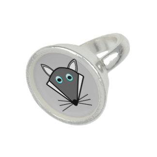 Cute Halloween Wolf Ring