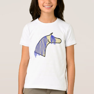 Cute Hand Drawn Arabian Horse T-Shirt