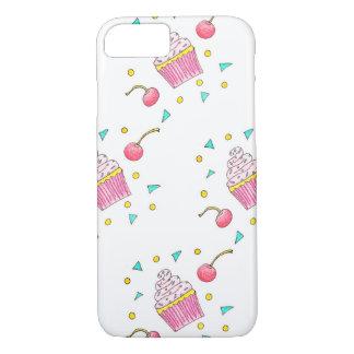 Cute Hand-Drawn Cupcake Phone/iPad Case