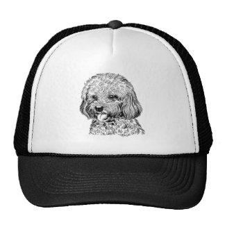 Cute Hand Drawn Puppy Dog Trucker Hat