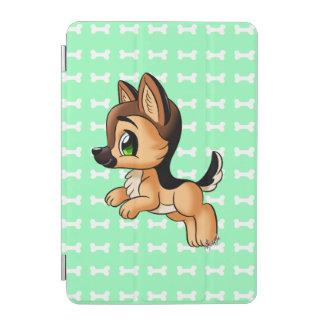 Cute Hand Drawn Puppy iPad Mini Smart Cover | Mint iPad Mini Cover