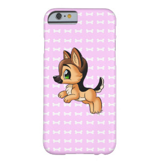 Cute Hand Drawn Puppy iPhone 6/6s Slim Phone Case