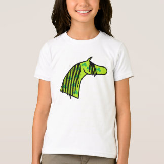 Cute Hand Drawn Shamrock Arabian T-Shirt
