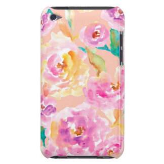 Cute Hand Painted Watercolor Flowers Case-Mate iPod Touch Case