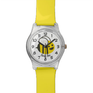 Cute Happy Busy Bumble Bee Watch