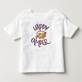 Cute Happy Camper Top for Kids