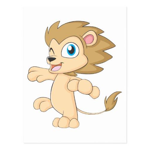 Dancing Babies Cute: Cute Happy Dancing Baby Lion Cub Shirt Postcard