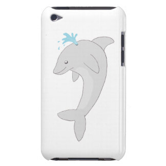 Cute Happy Dolphin iPod Touch Cases