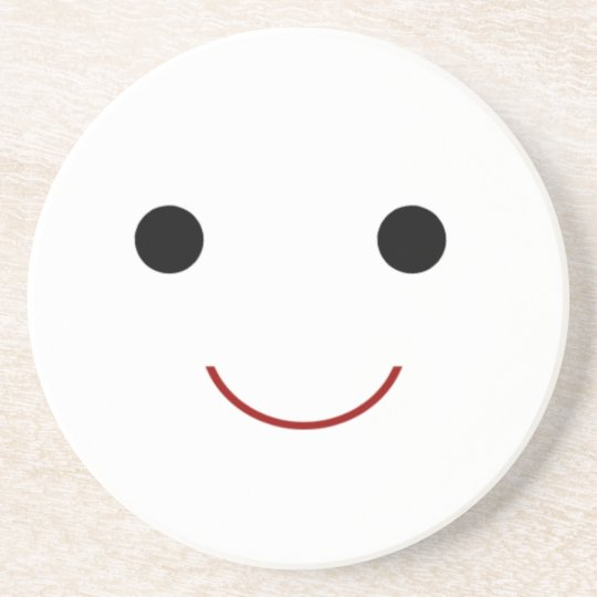 Cute Happy Face Coaster
