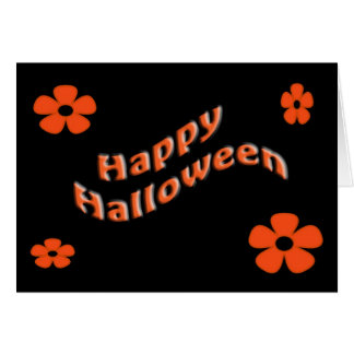 Cute Happy Halloween Card