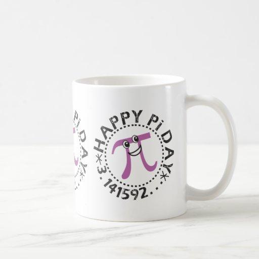 Cute Happy Pi Day Coffee Mug