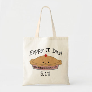Cute Happy Pi Day! Tote Bag