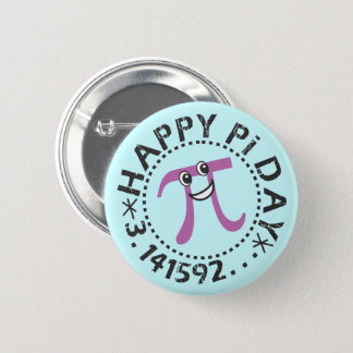Cute Happy Pi Day - Wearable Pi Day Gift 2 Inch Round Button